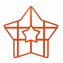 Форма для торта Звезда 25см