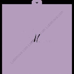 Трафарет 8марта №2