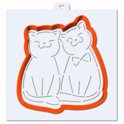 Вырубка Влюбленные кошки +...