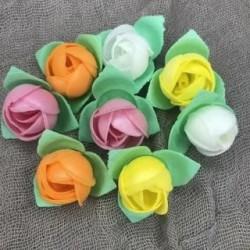 Вафельный цветок Роза, 5шт