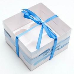 Коробка для капкейков «Gift...