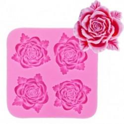 Молд силиконовый Ажурные розы
