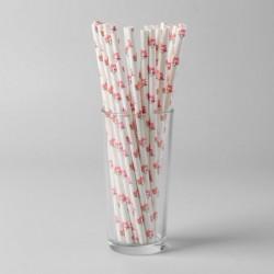 Трубочки Розовый фламинго,...