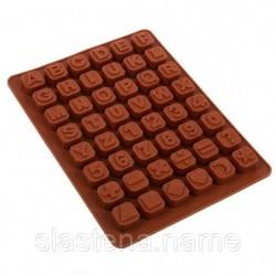 Для шоколада Алфавит+Цифры....
