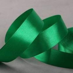 Лента атласная 25мм зеленая...