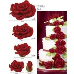 Цветы измастики— Розы, 5шт