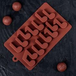 Форма для шоколада «Ноты»