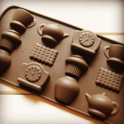 Форма для шоколада «Чаепитие»